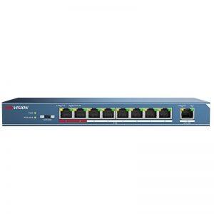 Switch mạng PoE 9 cổng DS-3E0109P-E(B)