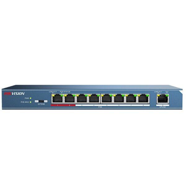 Switch mạng PoE 9 cổng DS-3E0109P-E/M