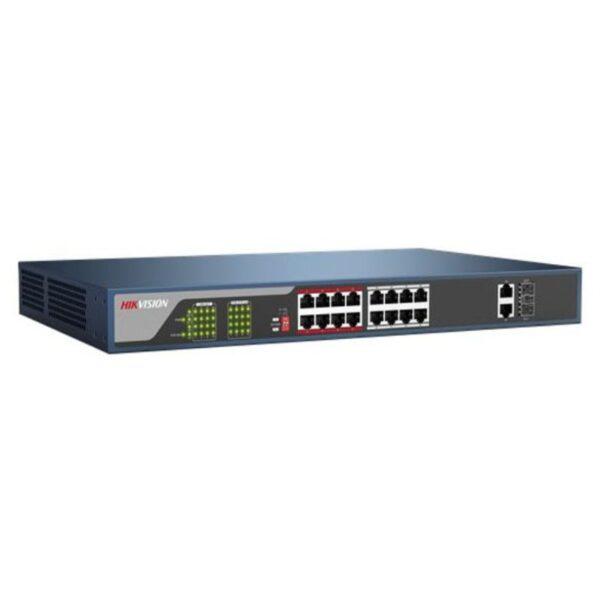 Switch mạng PoE 18 cổng DS-3E0318P-E/M