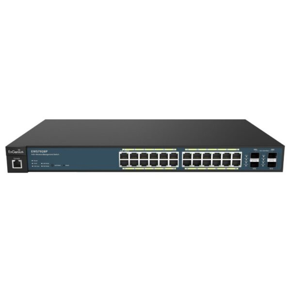 Switch mạng PoE+ 24 cổng EnGenius EWS7928P
