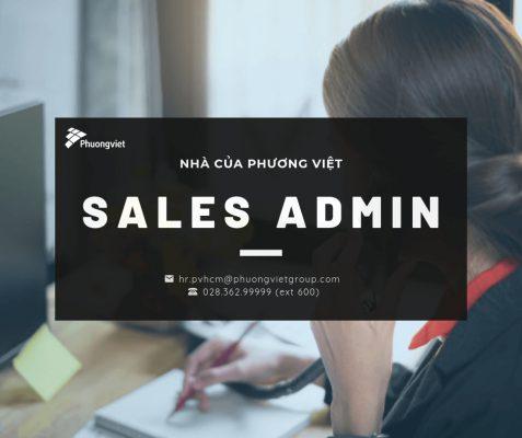 Tuyển dụng sales admin