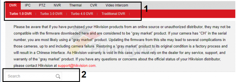 Hướng dẫn update firmware cho đầu ghi DVR/NVR camera IP