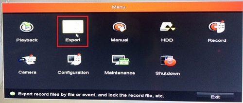 cách lấy dữ liệu từ đầu ghi camera hikvision