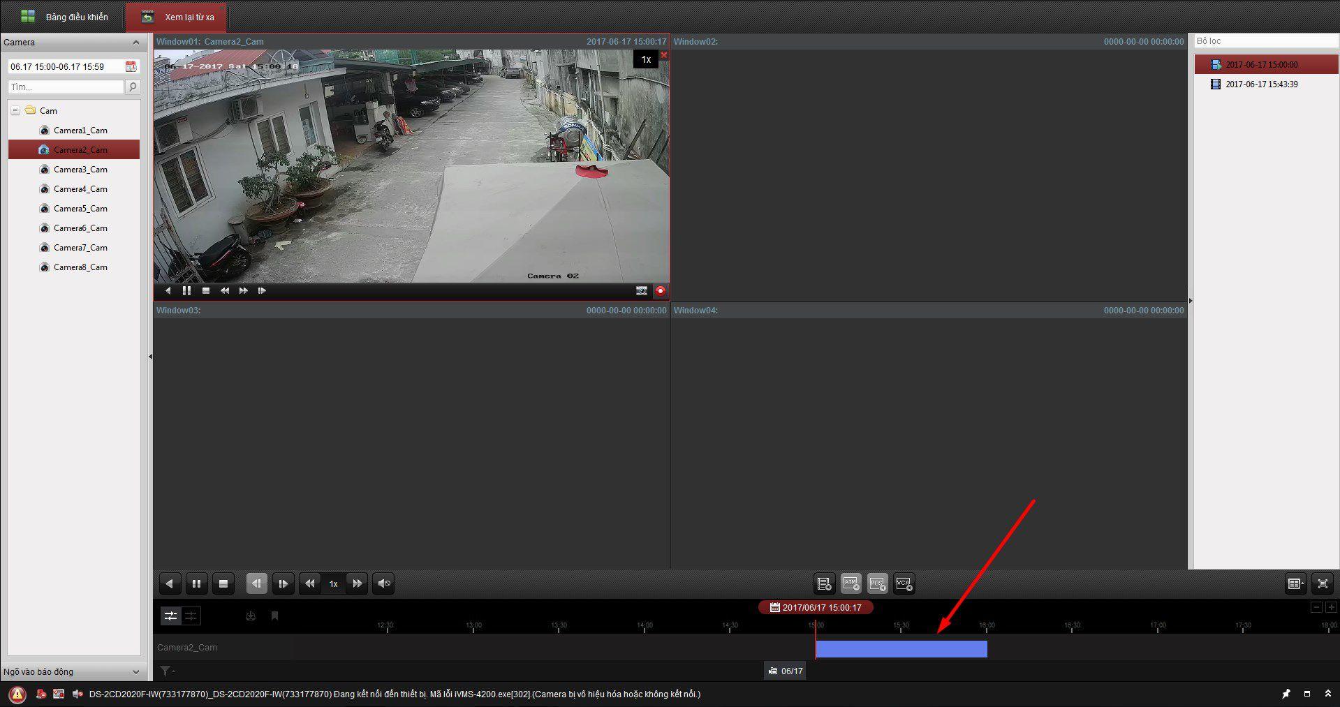 cách lấy dữ liệu từ đầu ghi hikvision bằng phần mềm