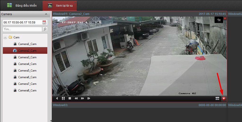 cách lấy dữ liệu từ đầu ghi hikvision bằng phần mềm iVMS 4200