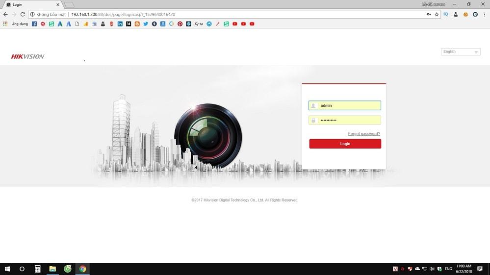 cách sao lưu dữ liệu đầu ghi camera trên trình duyệt web