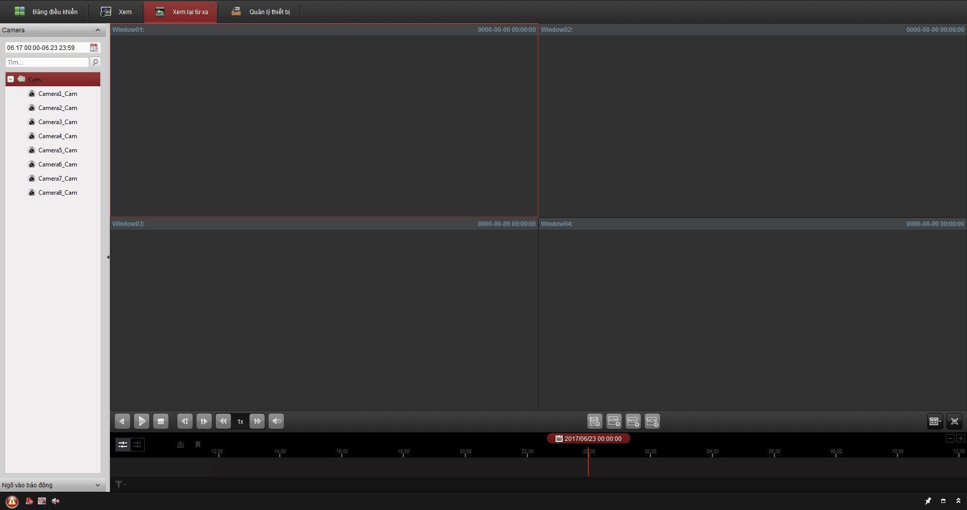 cách lấy dữ liệu từ đầu ghi hikvision bằng phần mềm iVMS