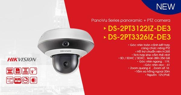 Hướng dẫn lắp đặt camera PanoVu mini PTZ