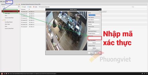 hướng dẫn cấu hình bảo mật mã hóa trên Hik-Connect