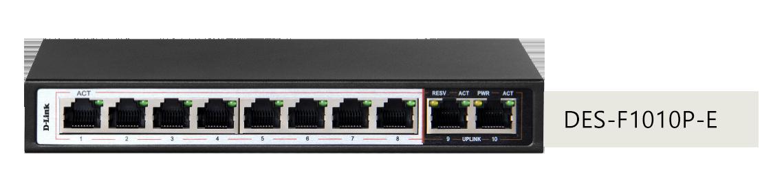 thiết kế Switch Dlink DES-F1010P-E