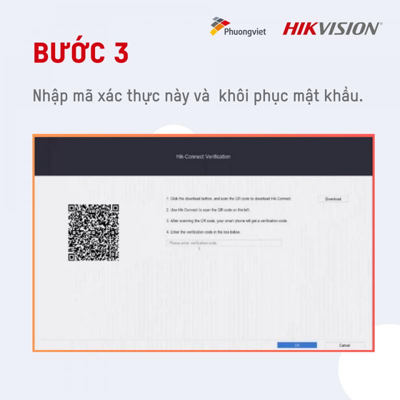 Cách reset mật khẩu đầu ghi Hikvision qua ứng dụng Hik-Connect