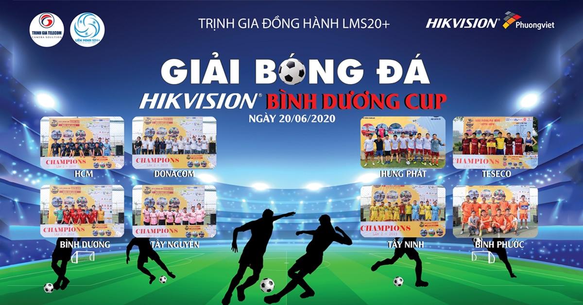 Giải bóng đá HIKVISION Bình Dương Cup